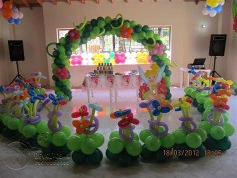decoracion tematica canita tinker bell