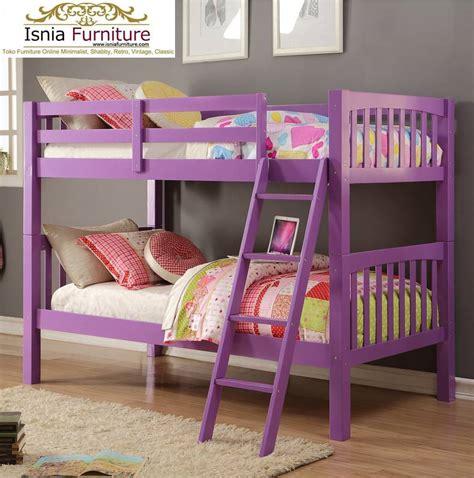 49 tempat tidur tingkat kayu minimalis jual harga murah