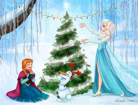 film frozen holiday christmas in arendelle by ribkadory on deviantart