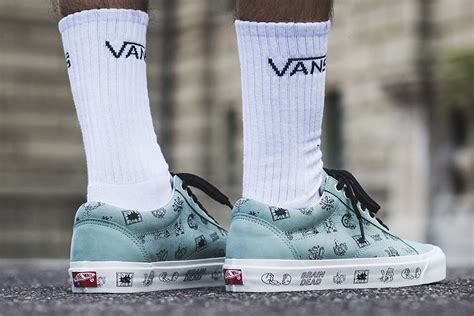 Vans X Brain Deads vans x brain dead capsule collection sneakers magazine