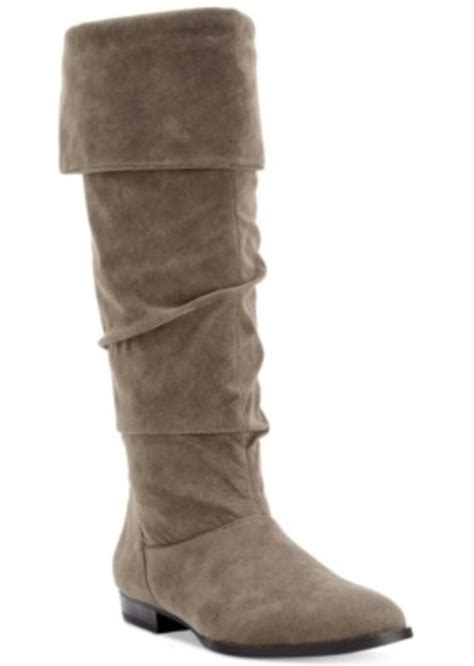 macys womans boots style co style co tiriza slouchy boots only at macy s