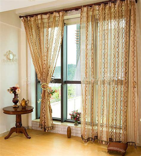 golden brown curtains popular sheer brown curtains buy cheap sheer brown