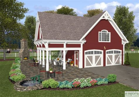 Country Garage Plans by Country Garage Plan The House Designers