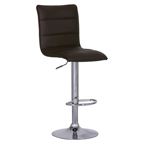 Leather Bar Stool With Back Faux Leather Bar Stools Swivel Bar Stool Kitchen Breakfast Chair With Back U029 Ebay