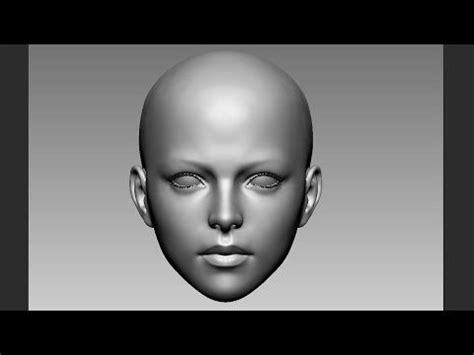 Www Youtubefemslefade | female face zbrush practice youtube tutorial zbrush