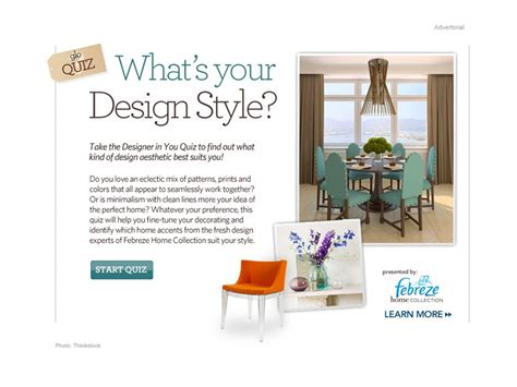 interior design style quiz home design