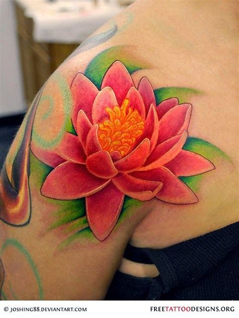 different flower tattoos the lotus flower and its different colored meanings