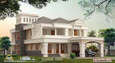 kerala home design kozhikode 3700 sq ft luxury villa design kerala home design and floor plans