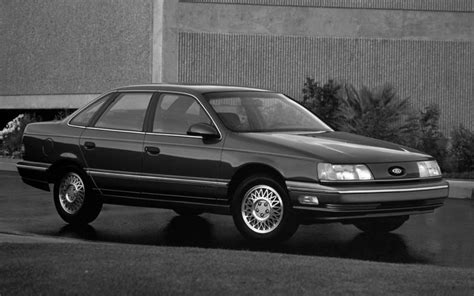 how to learn about cars 1990 ford taurus lane departure warning 1990 ford taurus front three quarter photo 17