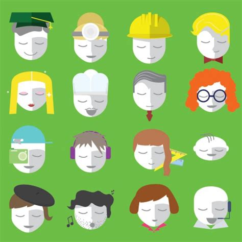 flat design icon download avatar flat design icons vector free download