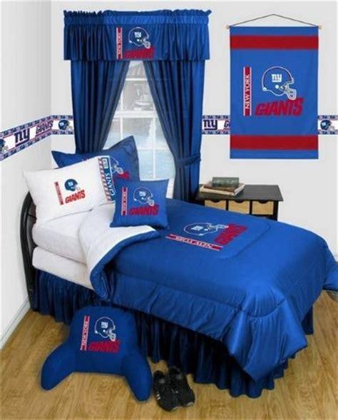 ny giants bedroom new york giants nfl locker room complete bedroom package queen bedding