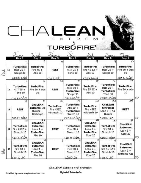 Chalean Workout Calendar Chalean Calendar And Worksheets Calendar