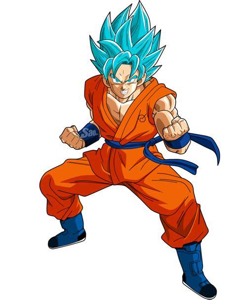 imagenes de goku pelo azul goku ssgss power 4 by saodvd on deviantart