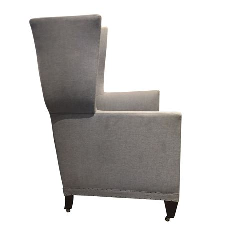 contemporary wing chair balsamo antiques contemporary wing chair