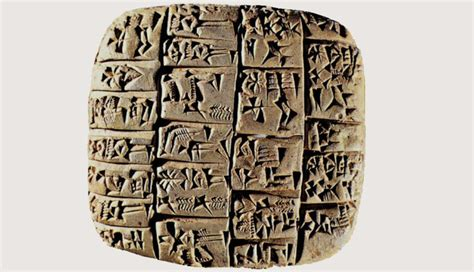tavole sumeriche 3000 a c tavolette d argilla storia e teoria dei nuovi