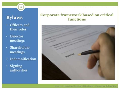 Haskayne Mba Review by Corporate Governance