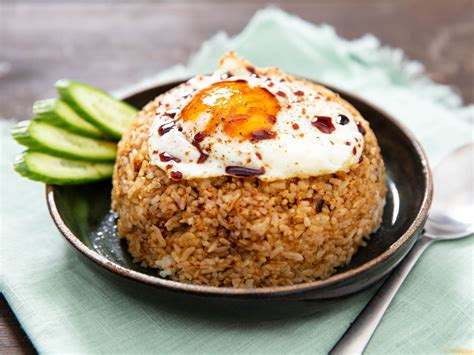 nasi goreng indonesian fried rice recipe  eats