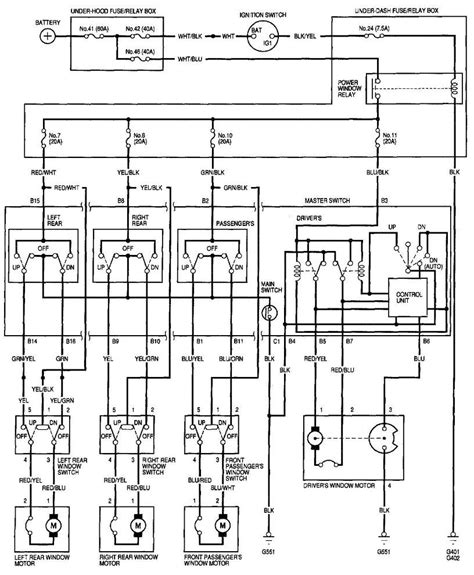 96 civic power window wiring diagram webtor me