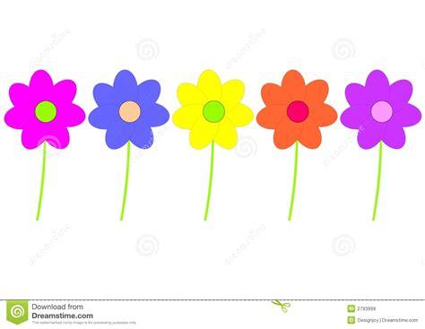imagenes flores infantiles flores infantiles ilustraci 243 n del vector imagen de