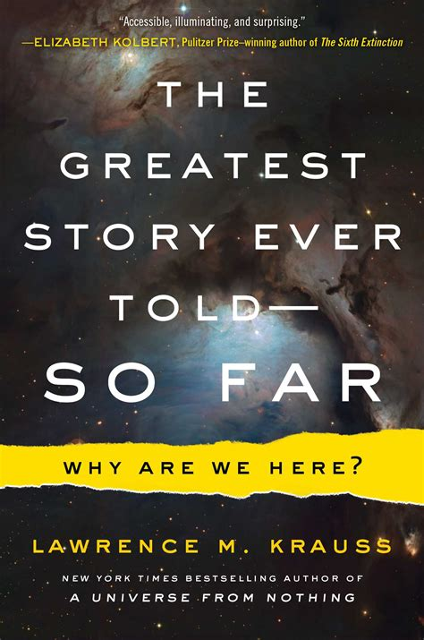 the greatest story ever the greatest story ever told so far book by lawrence m