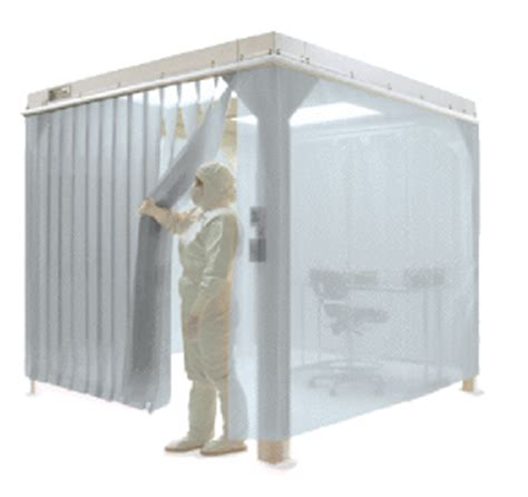 clean room plastic curtains modular cleanroom quickquote planners