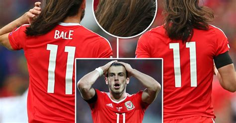 why is gareth bale growing his hair gareth bale lets his hair down and fans can t handle it