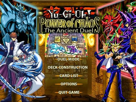 download mod game yugioh android pc game yu gi oh power of chaos the ancient duel mod