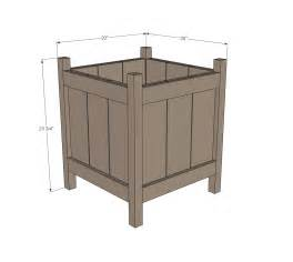 pdf diy woodworking plans for planters