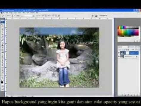 tutorial photoshop watercolor bahasa indonesia tutorial photoshop bahasa indonesia mengganti background