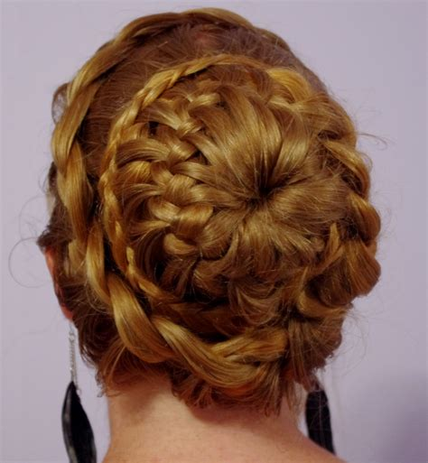 fancy hairstyles for braids hairstyles for hair fancy braided bun