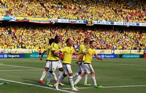 hora de bogota colombia colombia vs paraguay hora y transmisi 243 n eliminatorias