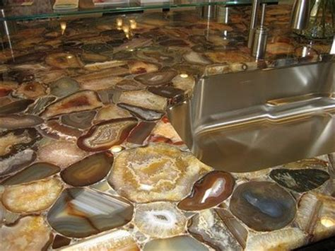 Rock Countertops by It S A M F Agate Geode Countertop