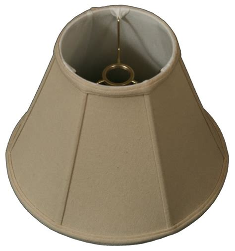 threaded uno downbridge l shade modified bell uno floor lshade traditional l
