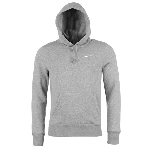 light grey hoodie mens nike fundamentals fleece hoody mens grey sweater jumper ebay