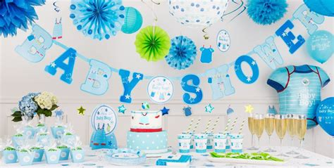 City Baby Shower Supplies by It S A Boy Baby Shower Decorations City