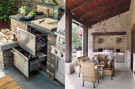 cucina esterna in muratura cucine da esterno in muratura foto design mag