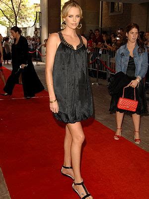 Festival Fashion Brangelina And Charlize Hit The Carpet In Venice And Deauville by Charlize Theron The 2007 Toronto Carpet Report
