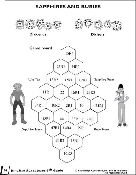 printable long division games 4th grade 86 best images about worksheets on pinterest coloring