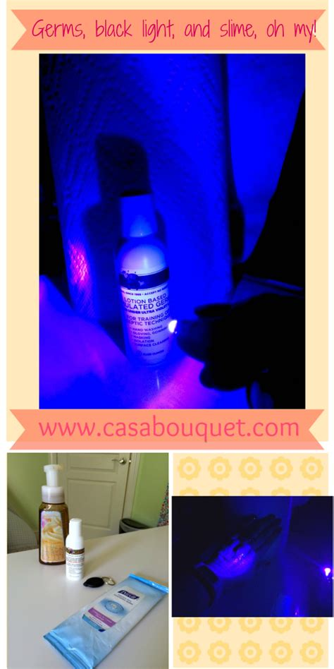 black light and germs germs black light and slime oh my casa bouquet