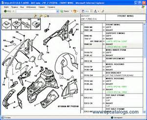 Peugeot 308 Parts List Peugeot Sbox Parts And Repair Repair Manual Cars Catalogues