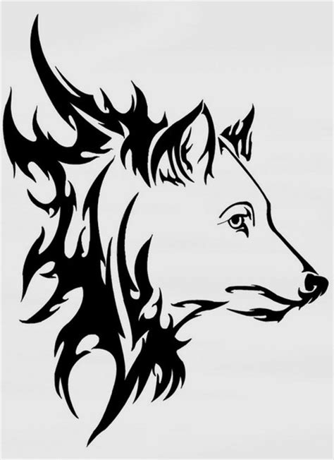 Kurt D 246 Vme Tattoo Black Wolf Designs