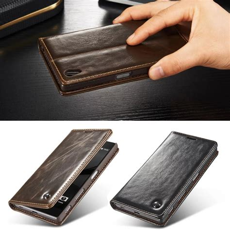 Luxury Flip Cover Sony Xperia Z5 Premium Leather Soft Casing luxury phone cases for sony xperia z5 5 2 quot z5 premium 5 5