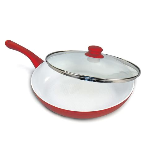 ceramic or induction which is best 24cm non stick ceramic coated aluminium pan frying induction kitchen cookware ebay