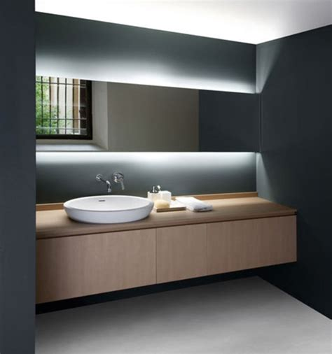 Vanity Lighting For Bathroom Seductive Bathroom Vanity With Lights Design Ideas