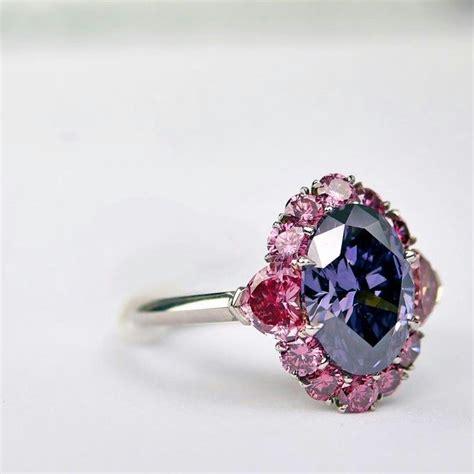 Dparis Violet Ring le gemmologue the impossibly argyle violet