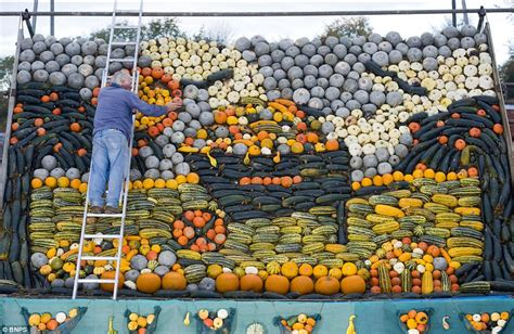 pumpkin displays 2011 pumpkin and squash display wows crowds in