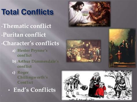 Conflict In The Scarlet Letter
