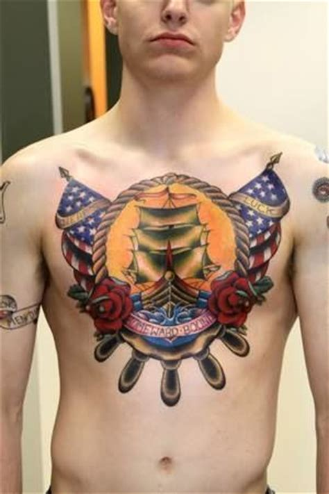 chest tattoo military army tattoos chest tattoo and army on pinterest