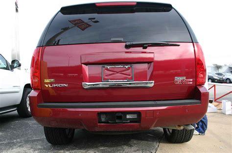 gmc yukon back gmc yukon chrome rear lift tail gate handle cover trim