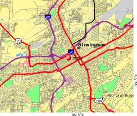 Birmingham Zip Code Map by Birmingham Al Zip Code Map Images